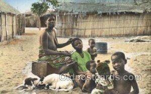 African Nude Unused