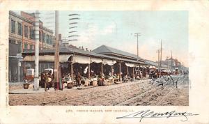 LA. New Orleans French Market, Commerce 1904