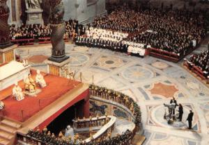 Italy Roma A view inside St. peter's During the Opening Ceremony Holy Year