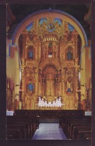 Golden Altar Church of San Jose Panama City Post Card  3123