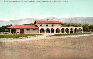 California Santa Barbara Southern Pacific Depot