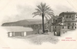 SORRENTO, Italy, 1900-1910's; Grand Hotel Victoria