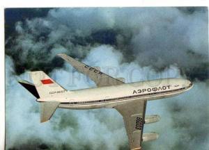 154489 AEROFLOT Soviet Airlines IL-86 Plane ADVERTISING OLD