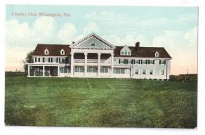 Delaware Wilmington Country Club ca 1910 Vintage Postcard