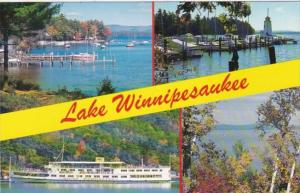 New Hampshire Lake Winnipesaukee Multi View