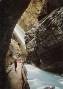 Switzerland, Suisse, Bad Ragaz, Taminaschlucht Bad Pfafers, unused Postcard