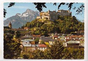 MALERISCHES SALZBURG, Blick vom Kapuzinerberg, unused Postcard