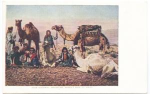 St Louis MO World's Exposition Arab Peasants Jerusalem Postcard