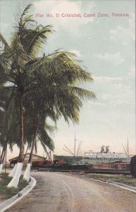 Panama Pier N 11 Cristobal Canal Zone