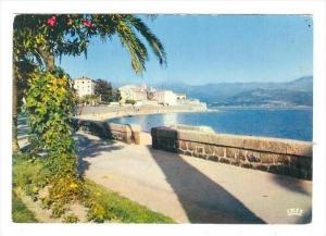 La Citadelle Et Sa Plage, Ajaccio (Corse-du-Sud), France, 1950-1970s