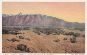 Fred Harvey The Desert Arizona Detroit Publishing
