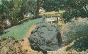 Acmegraph Alum Rock Park San Jose California C-1910 Meteor Postcard 20-2824