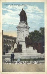 Montreal Canada, du Canada Edward VII Monument  Edward VII Monument