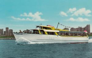 DETROIT , Michigan, 1950-60s ; Mercury Sightseeing Boats