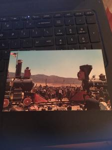 Vintage Postcard: Promontory Summit, Utah- 1969 Transcontinental Railroad