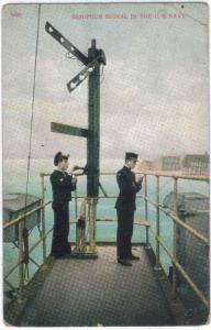 Military - U.S. Navy - Semifour Signal Training - 1911