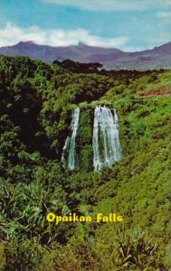 Hawaii Kaui Wailua The Opaikaa Falls