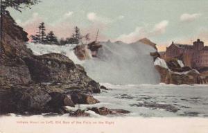 Indiana Head and Old Man of the Falls near Auburn, Maine - UDB
