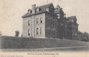PETERBOROUGH , Ontario , Canada , 1900-10s ; Nichol's Hospital Version-2