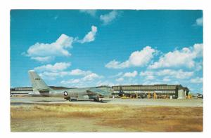 Stratojet B 47 Bomber Amarillo Air Force Base Texas Vintage View O Gram Postcard