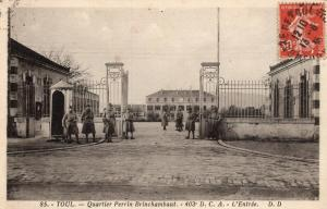 Military WW1 Toul Quartier perrin Brinchambaut 01.37