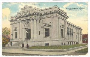 Brown Memorial Library, Williamsport, Pennsylvania, PU-1913