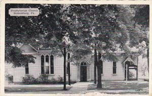 Pennsylvania Rimersburg Presbyterian Church Dexter Press