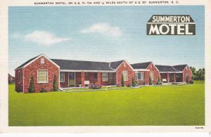 SUMMERTON Motel , South Carolina , 30-40s