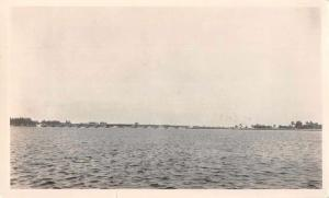 Palm Beach Florida Lake Worth Bridge Real Photo Non Postcard Back JD228145