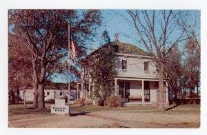 Postcard Home of General Dwight D. Eisenhower Abilene Kansas Standard View Card