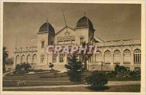Postcard Old Hyeres French Riviera Casino La Douce France