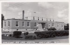 RP: ENGLEHART , Ontario, Canada, 1930-40ss ; Red cross Hospital