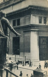 USA New York Wall Street Entrance to the Banking House 04.81
