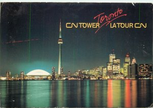 Canada Postcard Toronto CN Tower & Downtown image