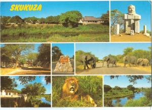 South Africa, SKUKUZA, 1987 used Postcard