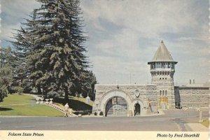 California State Prison FOLSOM PRISON c1960s Continental Vintage Postcard