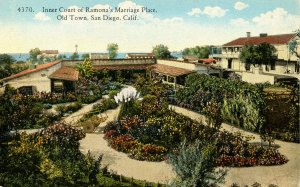 CA - San Diego. Ramona's Marriage Place, Inner Court