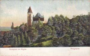 Germany Kempten im Allgaeu Burghalde Embossed
