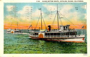 CA - Avalon, Catalina Island. Glass Bottom Boat Emperor