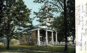Old Universalist Church Schuyler Lake NY 1910