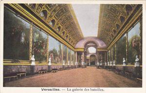 France Versailles La Galerie des batailles