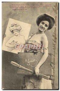 Old Postcard Fantasy Illustrator Gerbault
