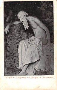 Artist Post Card Genova - Camposanto - M. Mangini Unused