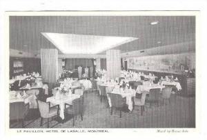 Interior, Le Pavillon, Hotel De Lasalle, Montreal, Canada, 40-60s