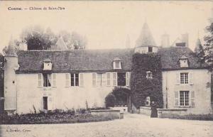 Chateau De Saint-Pere (Nièvre), France, 1900-1910s