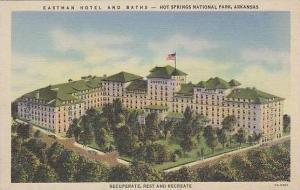 Arkansas Hot Springs National Park Eastman Hotel And Baths