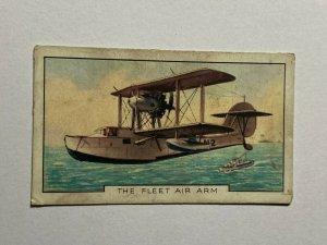 CIGARETTE CARD - GALLAGHER THE NAVY #44 THE FLEET AIR ARM   (UU12)