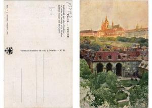 CPA AK Czechoslovakia - Praha - Valdstyn-Garden and the Castle (693997)
