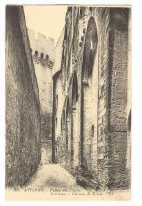 Palais De Papes, Interieur- Chemin De Ronde, Avignon (Vaucluse), France, 1900...