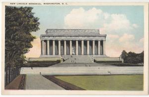 New Lincoln Memorial, Washington, DC, 1910s unused Postcard